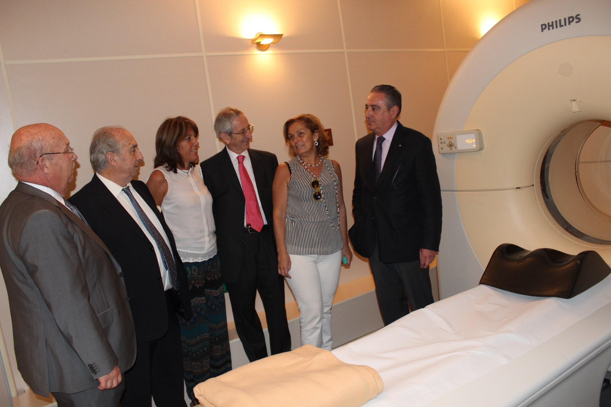 Opening new PET-CT scanner Sevilla